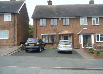 Thumbnail 3 bed terraced house for sale in Faraday Avenue, Quinton, Birmingham