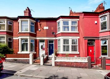 Thumbnail 3 bed terraced house for sale in Well Lane, Tranmere, Birkenhead