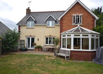 Thumbnail 4 bed detached house to rent in Lympstone, Exmouth, Devon