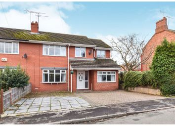 Thumbnail 5 bed semi-detached house for sale in New Street, Crewe