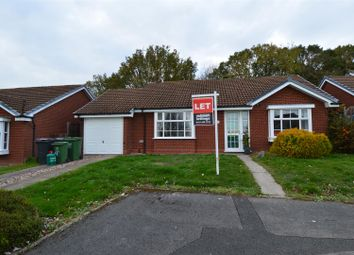 Thumbnail 2 bed detached bungalow to rent in Newport Close, Walkwood, Redditch