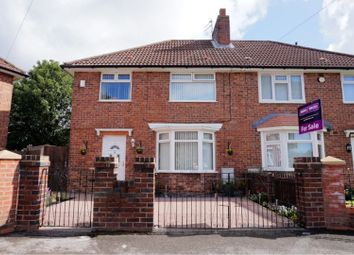 Thumbnail 3 bed semi-detached house for sale in Ranworth Square, Liverpool