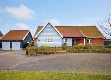 Thumbnail 3 bed detached bungalow for sale in Chandlers Way, Aldringham, Leiston