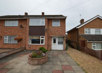 Thumbnail 3 bed semi-detached house to rent in Halcroft Rise, Wigston