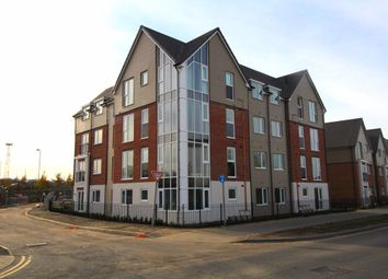 Thumbnail 2 bed flat to rent in Hansen Close, Rugby