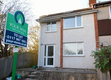 Thumbnail 3 bed flat to rent in Fairway Close, Oldland Common, Bristol