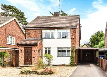 Thumbnail 4 bed detached house for sale in Oakfield Road, Blackwater, Surrey