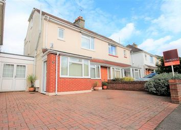Thumbnail 4 bedroom semi-detached house for sale in Langdon Road, Parkstone, Poole