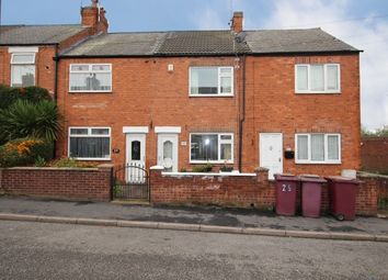 2 bed terraced house for sale in Welbeck Street, Creswell, Worksop, Nottinghamshire S80