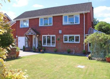 Thumbnail 5 bed detached house for sale in Rowdens Close, West Wellow, Romsey