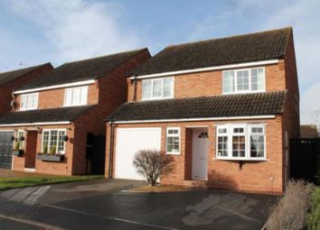 Thumbnail 3 bed detached house for sale in Whitworth Close, Wellesbourne, Warwick