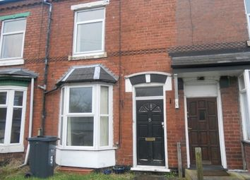 Thumbnail 2 bed terraced house to rent in Gladys Terrace, Gladys Road, Bearwood, Smethwick