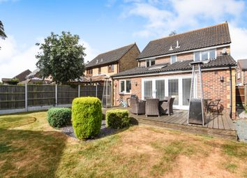 Thumbnail 4 bedroom detached house for sale in Burntwood Close, Billericay