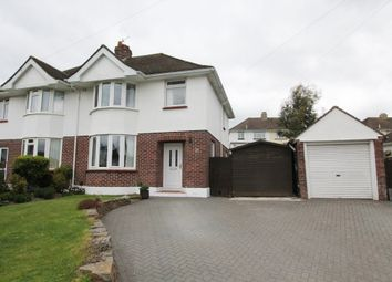 Thumbnail 3 bed semi-detached house for sale in Applegarth Close, Newton Abbot