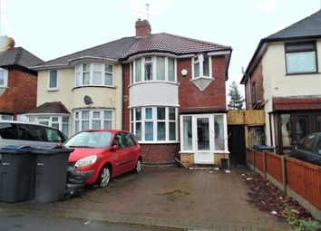 Thumbnail 3 bed semi-detached house for sale in Glendower Road, Perry Barr