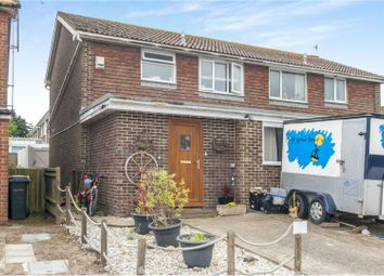 Thumbnail 3 bed semi-detached house for sale in Denham Way, Camber