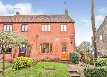Thumbnail 3 bed end terrace house for sale in Mallard Cottages, Tattersett, King's Lynn