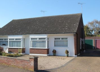 Thumbnail 2 bed semi-detached bungalow for sale in Rose Avenue, Stanway, Colchester
