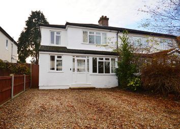 Thumbnail 4 bed semi-detached house for sale in Worthfield Close, West Ewell, Surrey.