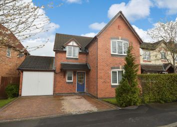Thumbnail 4 bedroom detached house for sale in Downes Way, Sharston, Manchester