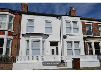 Thumbnail 5 bed terraced house to rent in Littledale Road, Wirral