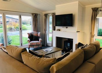 Thumbnail 3 bed lodge for sale in Stanford Bishop, Worcester