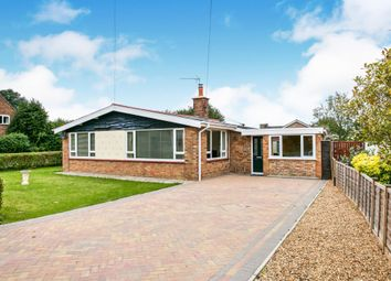 Thumbnail 3 bedroom detached bungalow for sale in Ramsey Road, Ramsey Forty Foot, Huntingdon