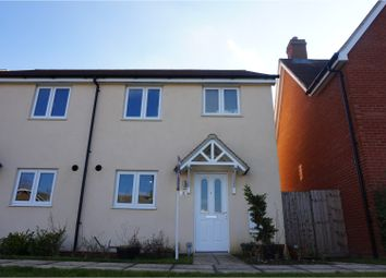 Thumbnail 3 bed semi-detached house for sale in Avey Walk, Bury St. Edmunds
