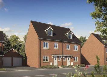 "Thumbnail 4 bed town house for sale in ""The Neston"" at Malone Avenue, Swindon"