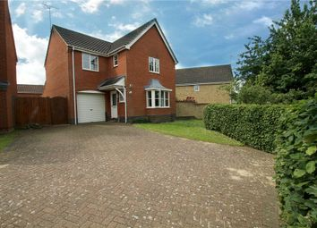 Thumbnail 4 bed detached house for sale in Monarch Way, Pinewood, Ipswich