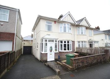 Thumbnail 3 bed terraced house to rent in Langhill Road, Plymouth