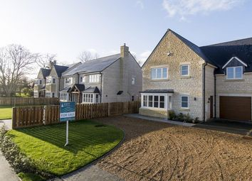 Thumbnail 4 bedroom link-detached house for sale in Southwick Road, Glapthorn, Peterborough