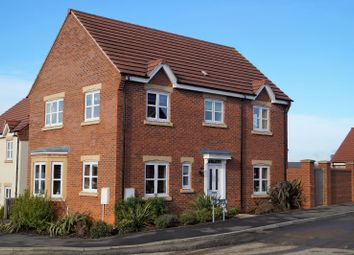 Thumbnail 4 bed detached house for sale in Lily Drive, Great Glen, Leicester