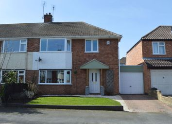 Thumbnail 3 bed semi-detached house for sale in Eastway Road, Wigston, Leicester