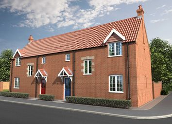 Thumbnail 3 bedroom semi-detached house for sale in Curtis Drive, Coningsby, Lincolnshire
