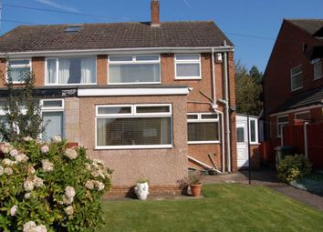 Thumbnail 3 bed semi-detached house to rent in Fairway South, Bromborough, Wirral