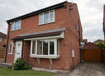 Thumbnail 2 bedroom semi-detached house for sale in Blakeley Grove, York