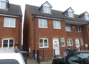 Thumbnail 4 bed end terrace house for sale in Talbot Road, Wellingborough
