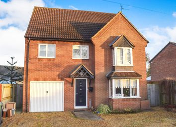 Thumbnail 5 bed detached house for sale in Sandpit Road, Thorney, Peterborough