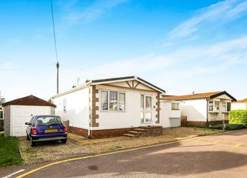 Thumbnail 2 bed mobile/park home for sale in Long Close, Station Road, Lower Stondon, Henlow