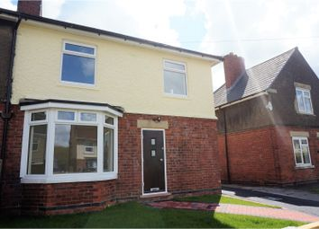 Thumbnail 3 bed semi-detached house for sale in Leamoor Avenue, Alfreton