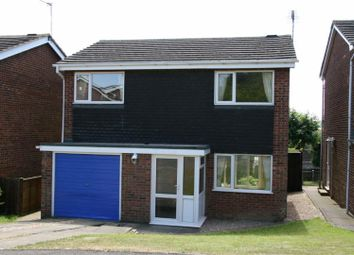 Thumbnail 3 bed detached house to rent in Chiltern Close, Oakham