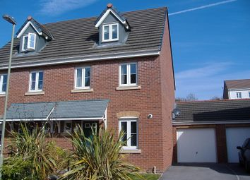 Thumbnail 3 bedroom semi-detached house to rent in 35 Longacres, Bridgend, Bridgend.