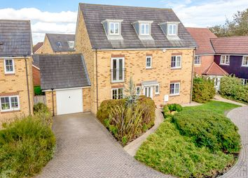 Thumbnail 5 bed detached house for sale in Campbell Road, Hawkinge, Folkestone