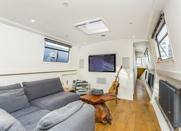 Thumbnail 1 bed houseboat for sale in Poplar Dock Marina, Boardwalk Place, Canary Wharf