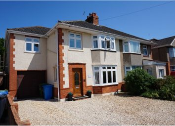 Thumbnail 4 bed semi-detached house for sale in Shottsford Road, Poole