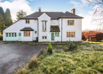 Thumbnail 4 bed detached house for sale in Birchall Lane, Leek, Staffordshire