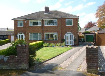 Thumbnail 3 bed semi-detached house for sale in Hilary Close, Great Boughton, Chester