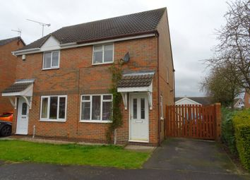 Thumbnail 2 bed semi-detached house for sale in Kirk Close, Ripley