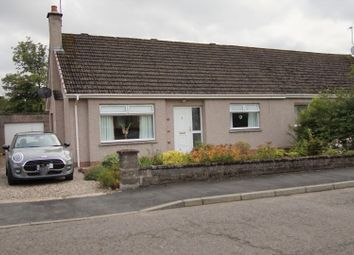 Thumbnail 3 bed semi-detached bungalow for sale in Caddam Crescent, Kirriemuir